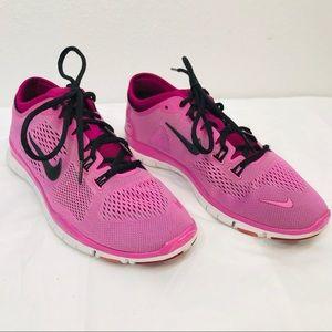 Nike Free 5.0 TR Fit 4 - Pink / Black - Size 7.5